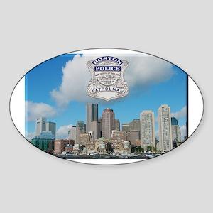 Boston Skyline Police Sticker