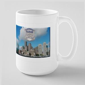 Boston Skyline Police Mug