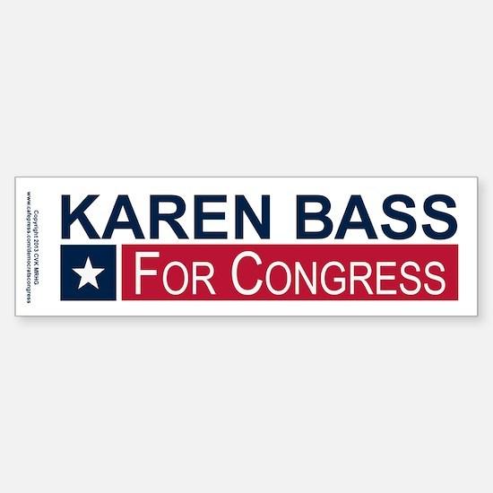 Elect Karen Bass Sticker (Bumper)