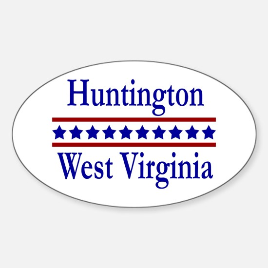 Huntington WV Oval Decal