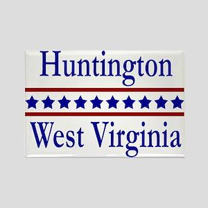 Huntington WV Rectangle Magnet