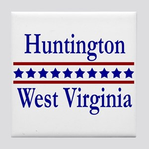 Huntington WV Tile Coaster