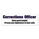 Corrections Officer Bumper Sticker