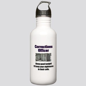 Corrections Officer Water Bottle