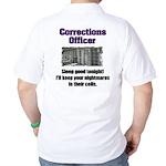 Corrections Officer Golf Shirt