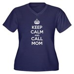Keep Calm and Call Mom Plus Size T-Shirt