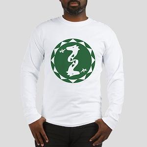 Green Dragon - Elementos neg Long Sleeve T-Shirt