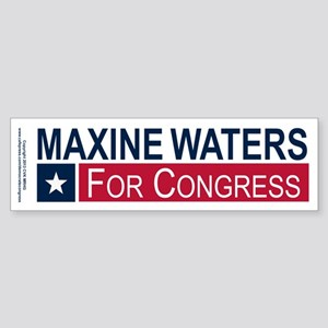 Elect Maxine Waters Sticker (Bumper)