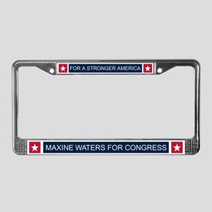 Elect Maxine Waters License Plate Frame