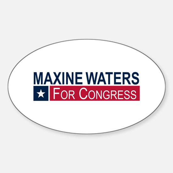 Elect Maxine Waters Sticker (Oval)