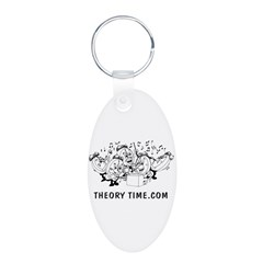 Theory Time Keychains