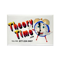 Theory Time Rectangle Magnet