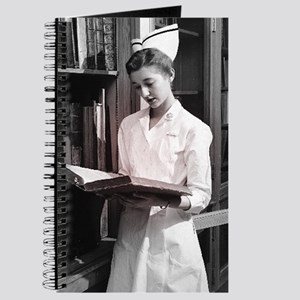 Vintage Nurse Gift Journal