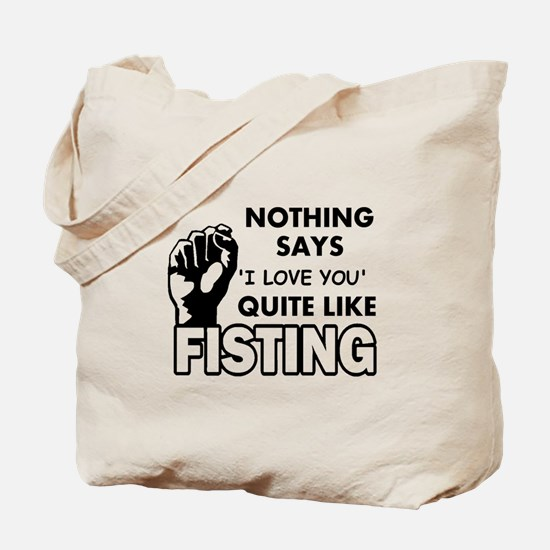 Fisting Tote Bag