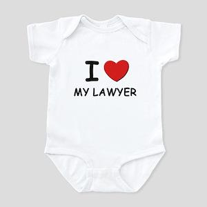 I love lawyers Infant Bodysuit