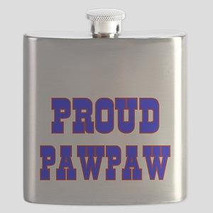 Proud Pawpaw Flask