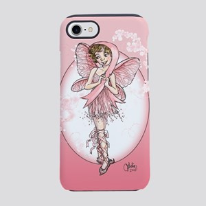 Pink Ribbon Fairy iPhone 7 Tough Case