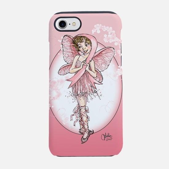 Pink Ribbon Fairy iPhone 7 Tough Case