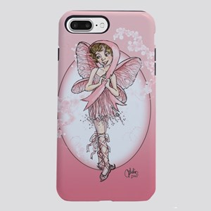 Pink Ribbon Fairy iPhone 7 Plus Tough Case