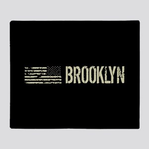 Black Flag: Brooklyn Throw Blanket