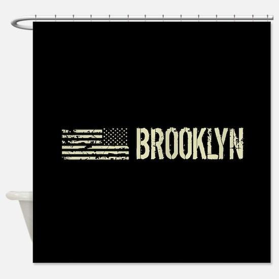 Black Flag: Brooklyn Shower Curtain