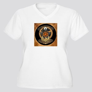 Steampunk Secret Service Badge Women's Plus Size V