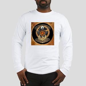 Steampunk Secret Service Badge Long Sleeve T-Shirt