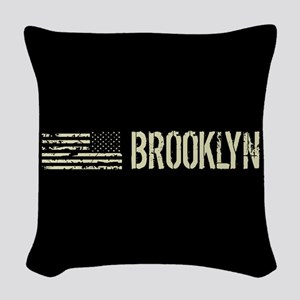 Black Flag: Brooklyn Woven Throw Pillow