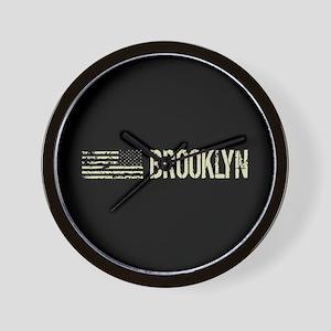 Black Flag: Brooklyn Wall Clock