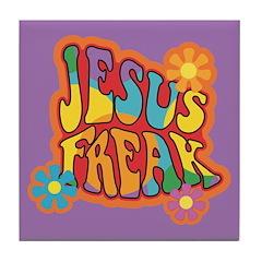 Jesus Freak Tile Coaster