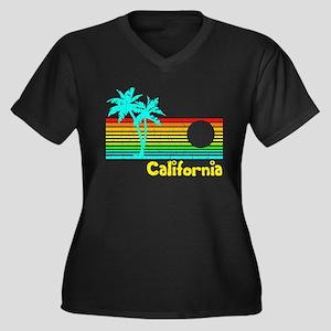 Retro Vintage California Plus Size T-Shirt