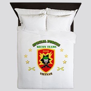 SOF - Recon Tm - Scout Queen Duvet