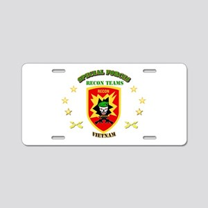SOF - Recon Tm - Scout Aluminum License Plate