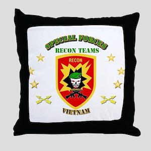 SOF - Recon Tm - Scout Throw Pillow