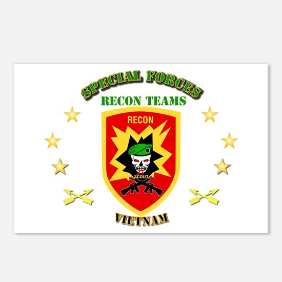 SOF - Recon Tm - Scout Postcards (Package of 8)