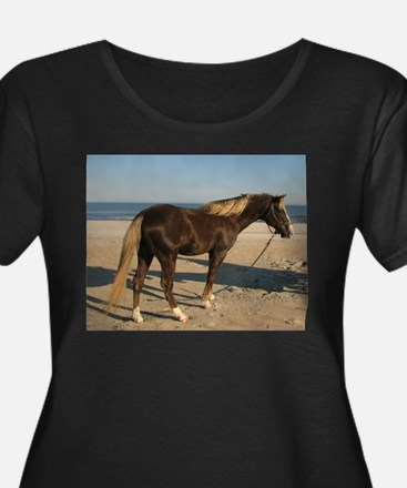 Rocky and Stroll Beach Plus Size T-Shirt