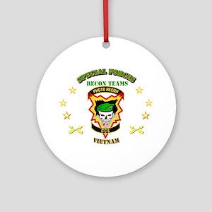 SOF - Recon Tm - Photo Recon - CCS Ornament (Round