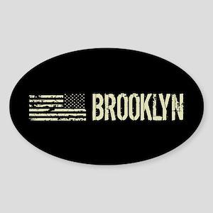 Black Flag: Brooklyn Sticker (Oval)