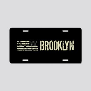 Black Flag: Brooklyn Aluminum License Plate