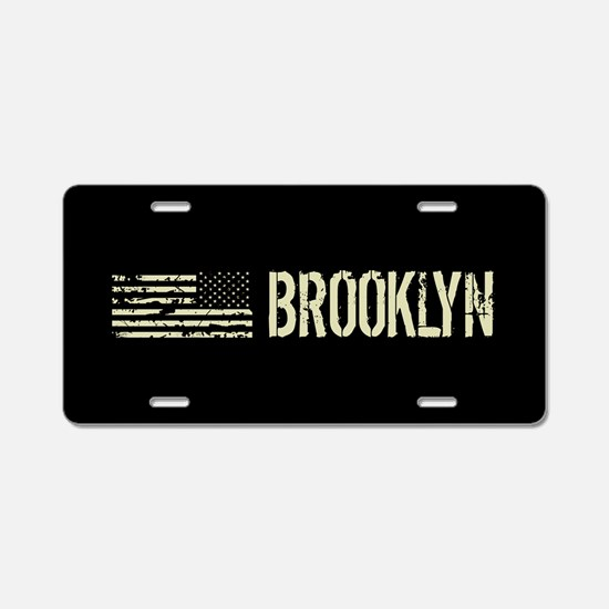 Black Flag: Brooklyn Aluminum License Plate