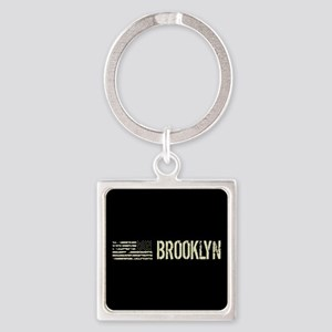 Black Flag: Brooklyn Square Keychain