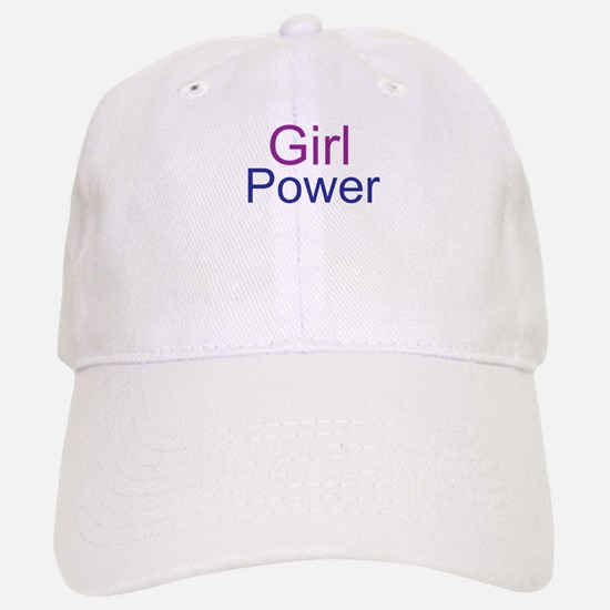 Girl Power Baseball Baseball Baseball Cap