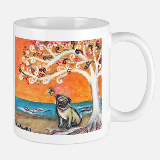 Pug ~the beauty of orange Mug