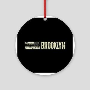 Black Flag: Brooklyn Round Ornament
