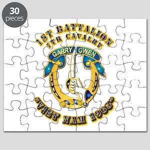 DUI - 1st Battalion 7th Cav VN 65 Puzzle