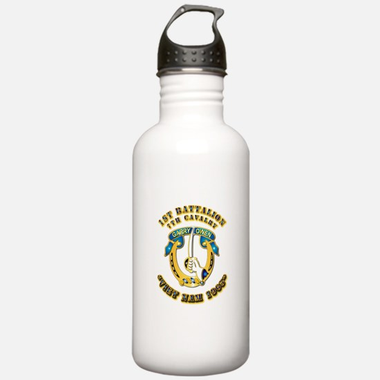 DUI - 1st Battalion 7th Cav VN 65 Water Bottle