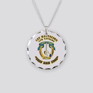 DUI - 1st Battalion 7th Cav VN 65 Necklace Circle