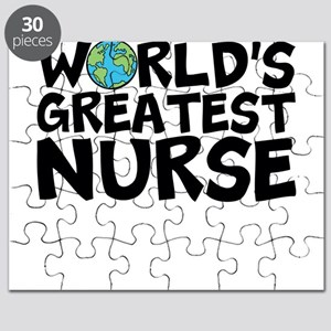 World's Greatest Nurse Puzzle
