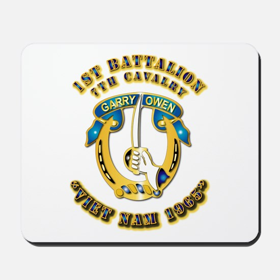 DUI - 1st Battalion 7th Cav VN 65 Mousepad