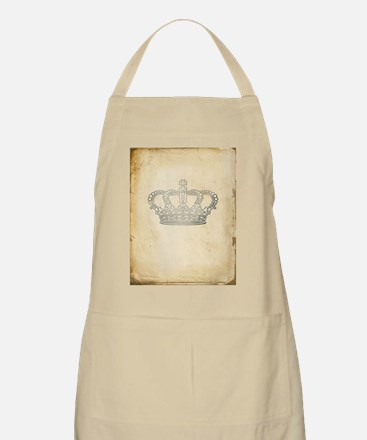 Vintage Royal Crown Apron